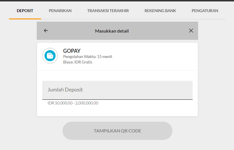 Deposit Dompet Digital 188BET